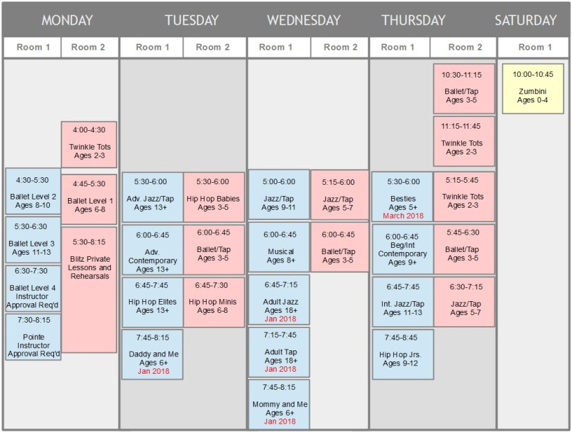 schedule drawing revised